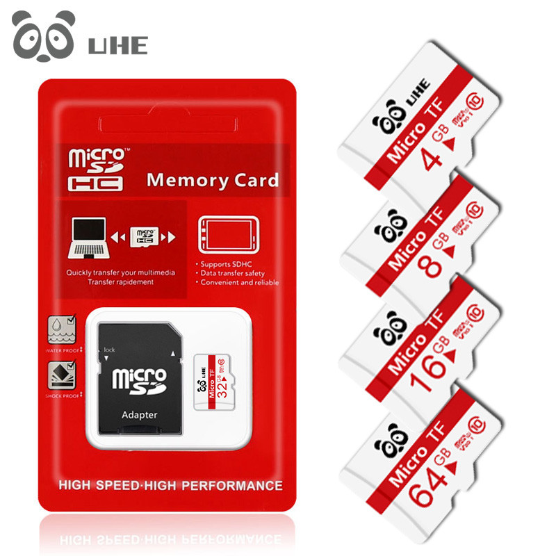 Mini Micro SD Card 16GB 32GB Memory Card 64GB 4GB MicroSD High Quality U1 C10 TF Card 8GB Cartao De Memoria For Phone Tablet