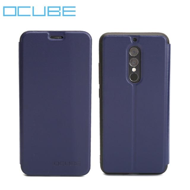 UMI UMIDIGI S2 Case Ocube Scratchproof Kickstand Phone Protector Leather Flip Cases Cover For UMI UMIDIGI S2 Pro 6.0'