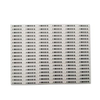1000Pcs 58K DR Dual Resonater 58K soft label Anti thieves label for EAS system EAS System    -