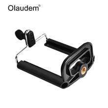 Olaudem Universal Stretchable Rotating Selfie Cell Phone Holder Mount Bracket Clip For Phone Smartphone Camera Tripod