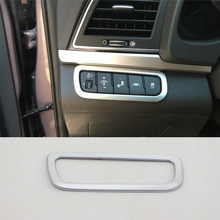Car Accessories Interior Decoration ABS Head Lamp Adjustment Buttons Cover For Hyundai Elantra 2018 Car-styling car accessories interior decoration abs head lamp adjustment buttons cover trims for toyota land cruiser 2016 car styling
