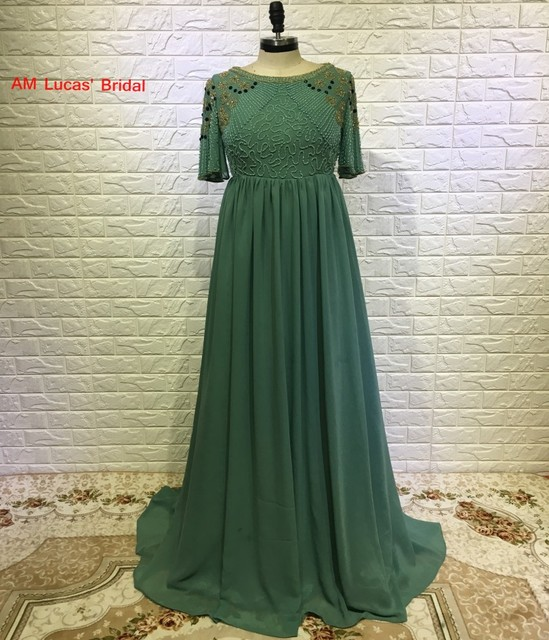 Arabic Pregnant Evening Dress 2018 Formal Turkish Islamic Muslim ...
