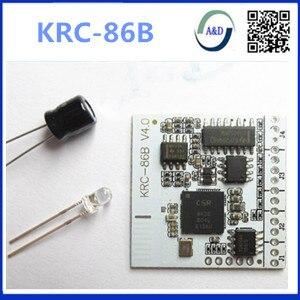 1 pcs livraison gratuite krc86b DIY KRC-86B Bluetooth V4.0 Stéréo Audio Récepteur Conseil Module