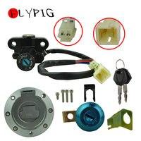 Fuel Gas Cap Ignition Switch Seat Lock Key Set For Yamaha YZF R1 R6 FZ6 01 12