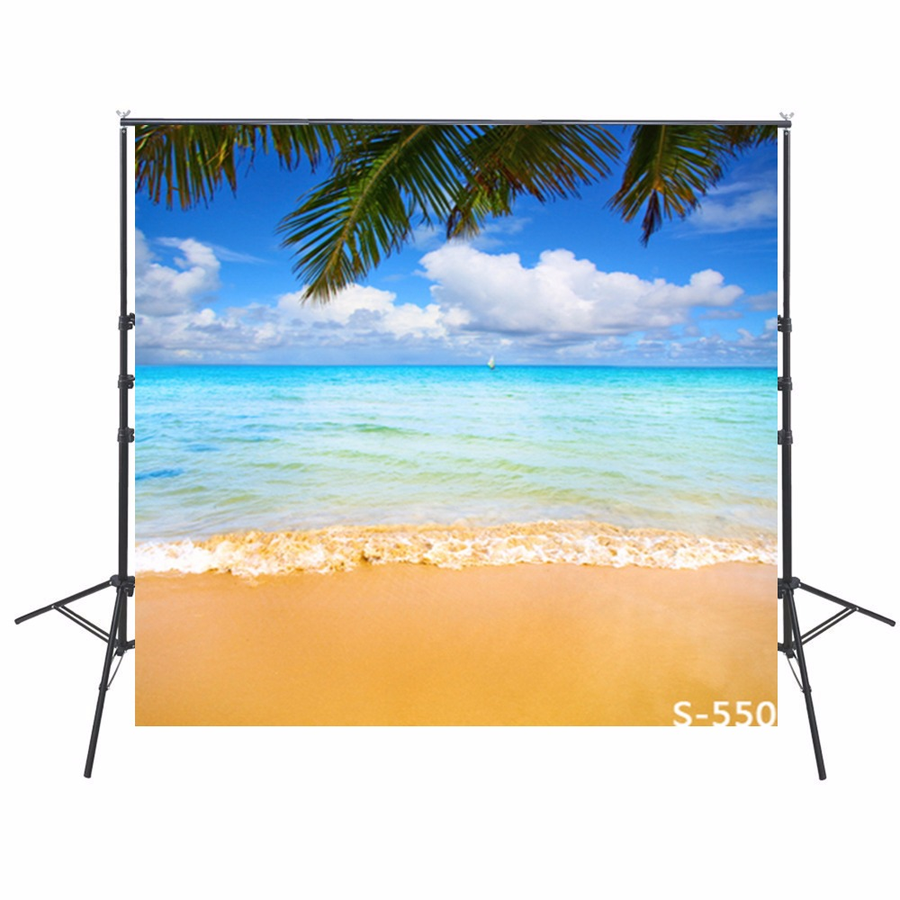 Hawaiian Holiday Photo Backdrops Vinyl Backdrops For Photography Beach Background For Photo Studio Ocean Fondali Fotografici 2015 new 2mx3m warning sign on the beach digital backdrops muslin vinyl photography background