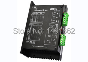 3M860 3 phase stepper motor driver stepper motor controller 18-80V Max 8.2A H bridge resolution up to 64 / step for NEMA 23-42 nema24 3nm 425oz in integrated closed loop stepper motor with driver 36vdc jmc ihss60 36 30
