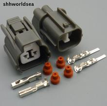 shhworldsea 5/30/100sets 2.0mm 2 pin Reverse male & female crank sensor connector for Honda Civic horn plugs for Buick