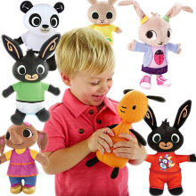 original bing plush toy sula flop hoppity voosh pando bunny rabbits coco doll peluche dolls toys children