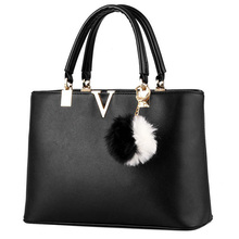 PU Leather Women Messenger Bag 2017 Famous Designers Brand Handbags Letter V Luxury Tote Crossbody Bags bolsa feminina SA006