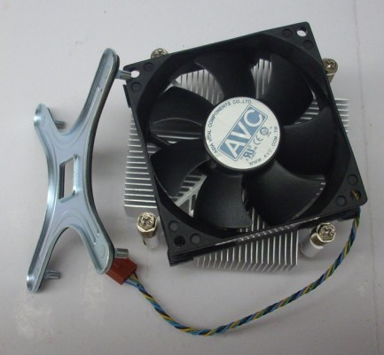 Original AVC 7cm 775 cpu heatsink metal base plate ball 4 needle isothermia mute cooling fan thermalright le grand macho rt computer coolers amd intel cpu heatsink radiatorlga 775 2011 1366 am3 am4 fm2 fm1 coolers fan