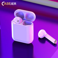 CASEIER New I9S TWS Mini Wireless Bluetooth Earphones Headsets With Charging Box Headphone auriculares bluetooth inalambrico