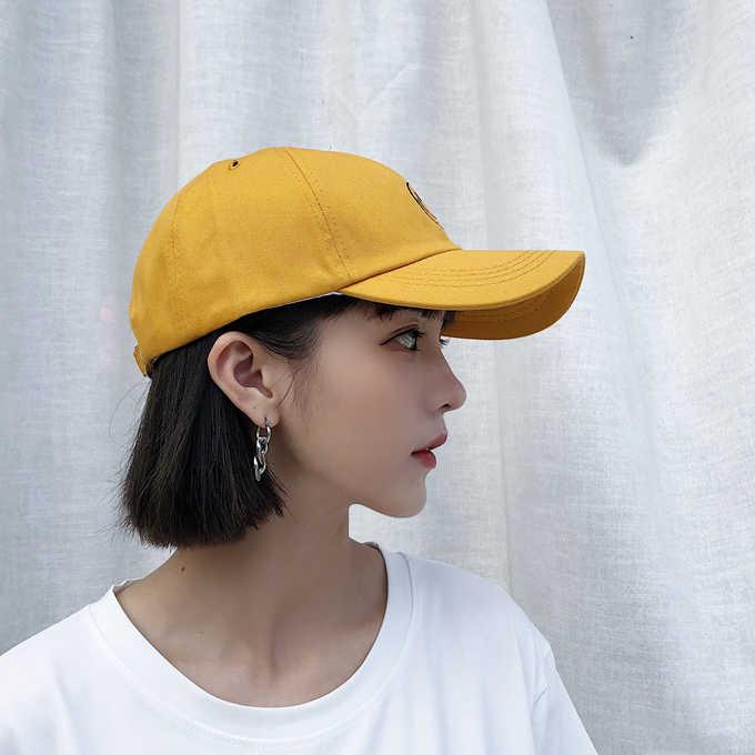 5d02d21b23afd ... Casquette Femme 2018 Korean Ulzzang Harajuku Casual Lovely Baseball Cap  For Women Hat Summer Street Tide