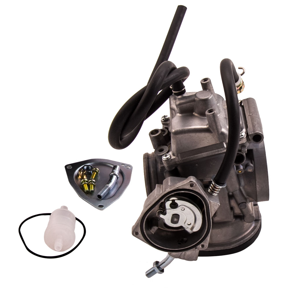 New Carburetor for Suzuki LTZ400 LTZ 400 Quadsport Kawasaki KFX400 Arctic DVX400 ATV Quad Carb 2003-2007 black throttle base cover carburetor for honda trx350 atv carburetor trx 350 rancher 350es fe fmte tm carb 2000 2006