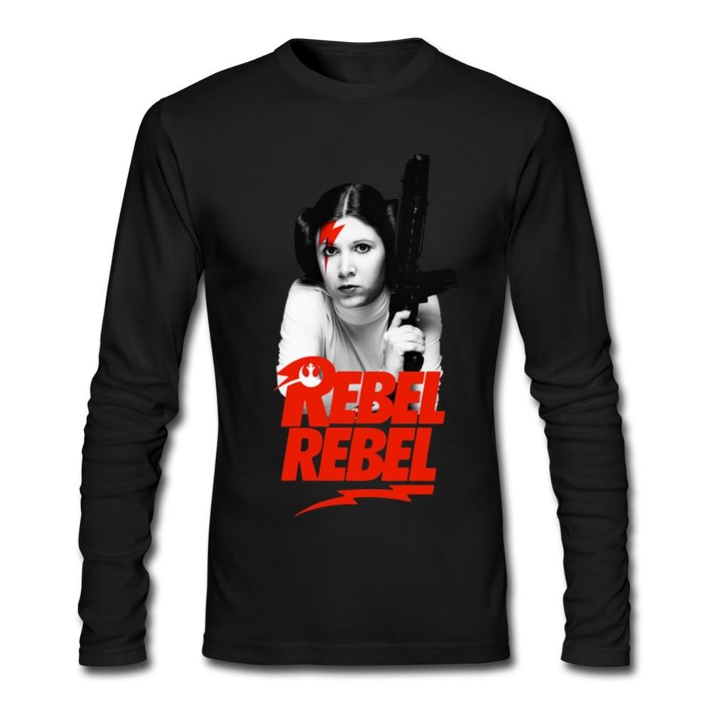 Star Wars Princess Leia Print T Shirt Men Plus Size Youth ... Old Princess Leia Shirts
