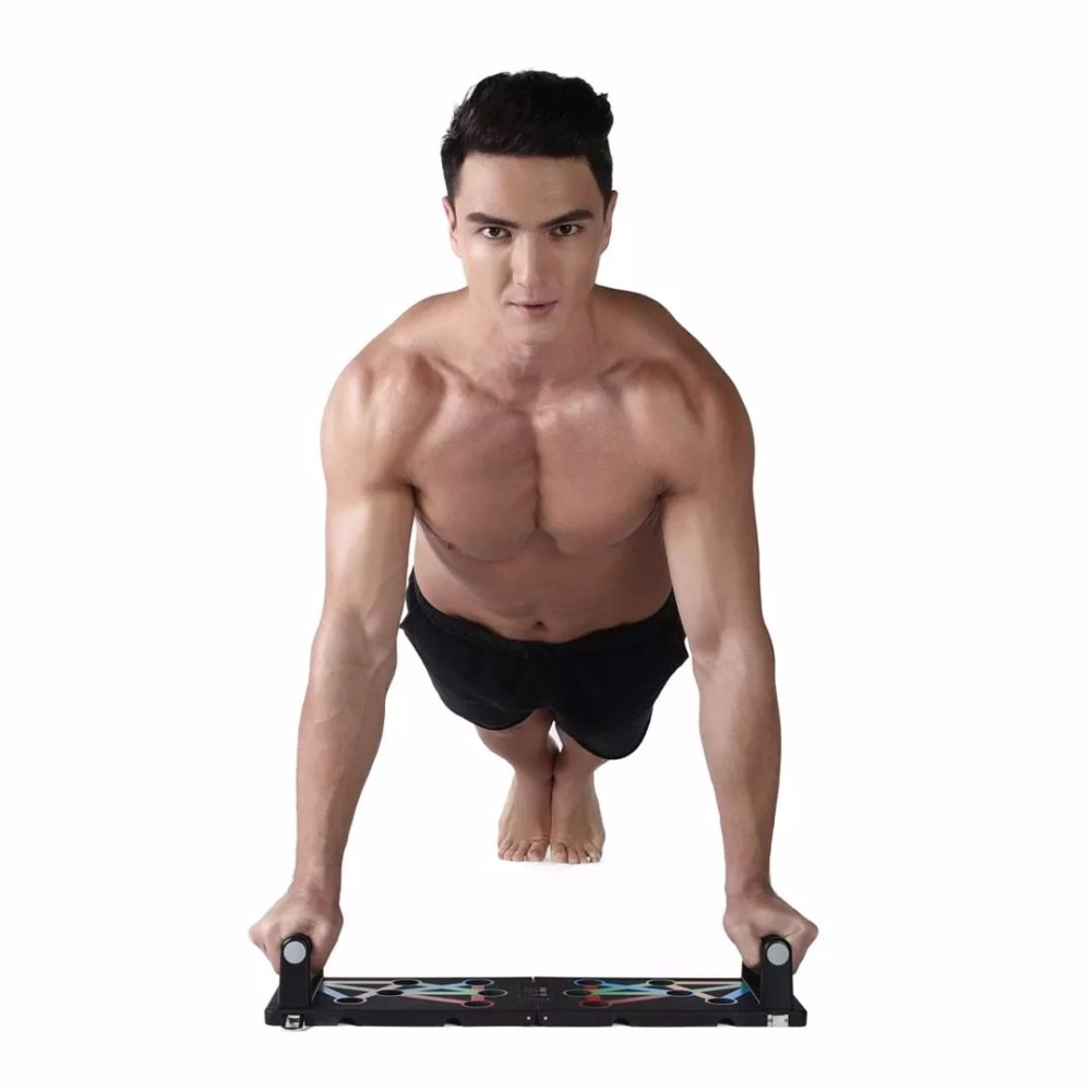 Image 5 - HOT In Stock Original Xiaomi Mjia Yunmai Protable Push up Support  Board Training System Power Press Push Up Stands Exercise ToolSmart  Remote Control
