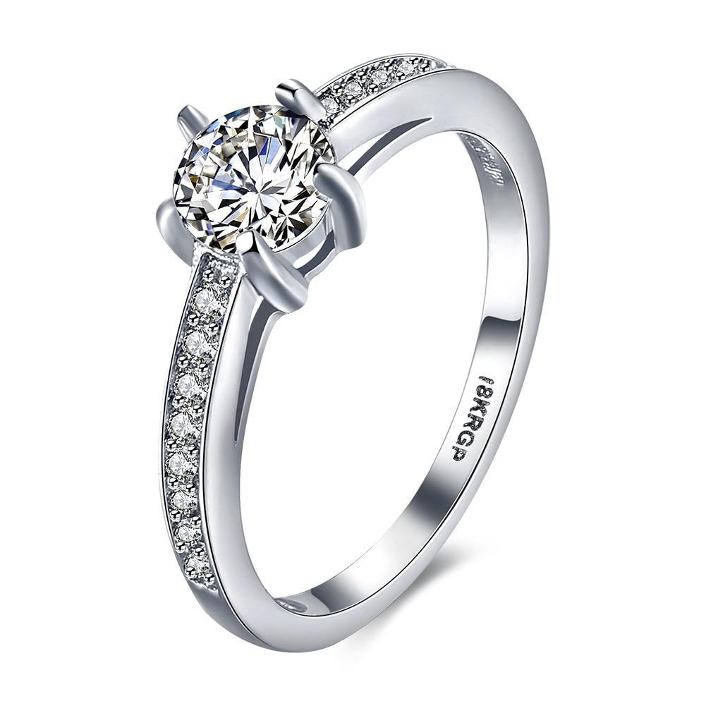 Classic High Grade Aaa+ Zircon Inlay Ladies Dreaming Wedding Rings From  Charmian & Cecelia(china