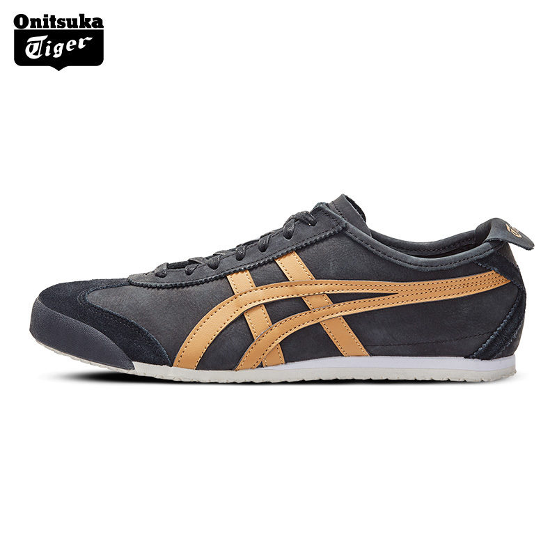 Onitsuka Tiger Vintage Classic Loafers for Men / Women Light Comfortable Low Cut Sneakers Badminton Shoes MEXICO 66 1183A198