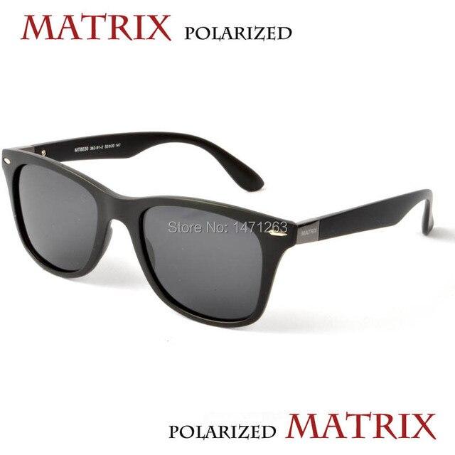 35664cfe6d Polarized sunglasses MT8030 MATRIX Men s classic style lenses have UV and  polarizing function free shipping