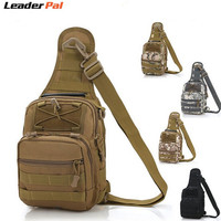 Tactical Fly Fishing Camping Equipment Outdoor Sport Nylon Wading Chest Pack Cross Body Sling Single Shoulder