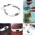 8 GB IPX8 MP3 Player de Música À Prova D' Água Debaixo D' Água Neckband Esportes Natação Mergulho com Rádio FM Fone de Ouvido Estéreo De Fone De Ouvido Áudio