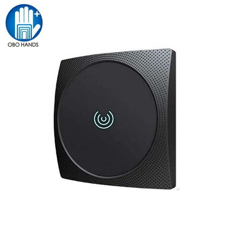 Leitor de cartão rfid da longa distância 13.56 mhz/125 khz leitor de controle acesso de cartão de proximidade wiegand34 ip65 à prova dnágua nfc