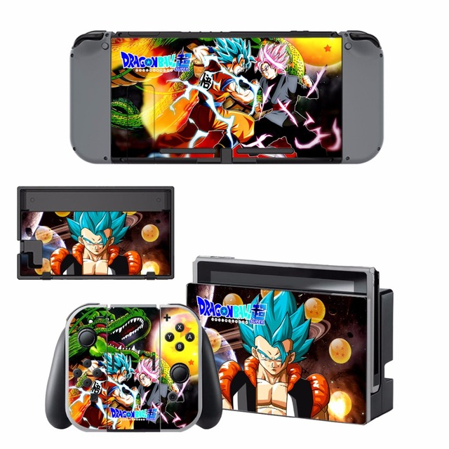 ARRKEO Dragon Ball Xenoverse 2 Protective Cover Vinyl Decal Skin Sticker for Nintend Switch NS Console & Wireless Controller  5