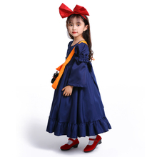 Costumes Childrens Knucks House Cosplay Dress Girls Little Witch Kiki Photo Parenting Costume Halloween