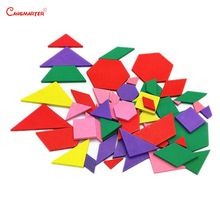 Montessori Educational Geometric Board Colorful Puzzles Early Education Kids Toys Wooden Montessori Materials Math Toy MA034-3 montessori materials blanket three colour three size math toys early educational toys can smarter free shipping