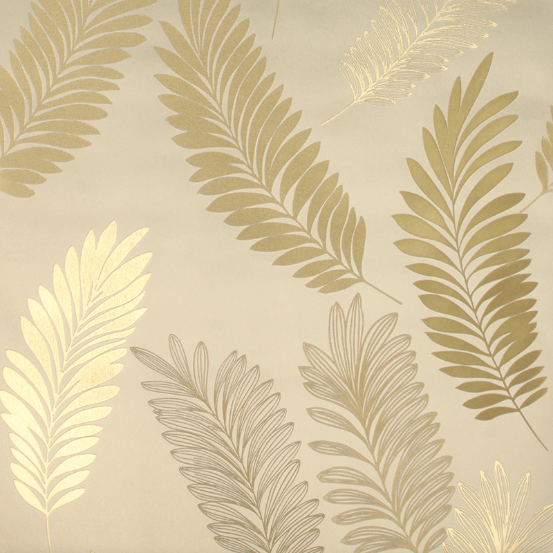 Stylish Modern Art Leaf Wallpaper Luxury Decorative Background For Walls Wall Paper Pvc Mural Roll In Wallpapers From Home