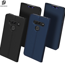Flip Case For For LG Q60 K50 PU Leather TPU Soft Bumper Protective Card Slot Holder Wallet Stand Cover Mobile Phone Case стоимость