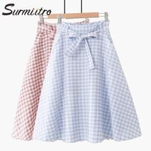 978254fc1 Falda A Cuadros De Color Azul de los clientes - Compras en línea ...