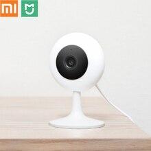 オリジナルxiaomi mijiaカメラ 1080 720pのhdワイヤレスwifiスマートカメラ赤外線ナイトビジョン 100.4 度広角xiaomiホームカム