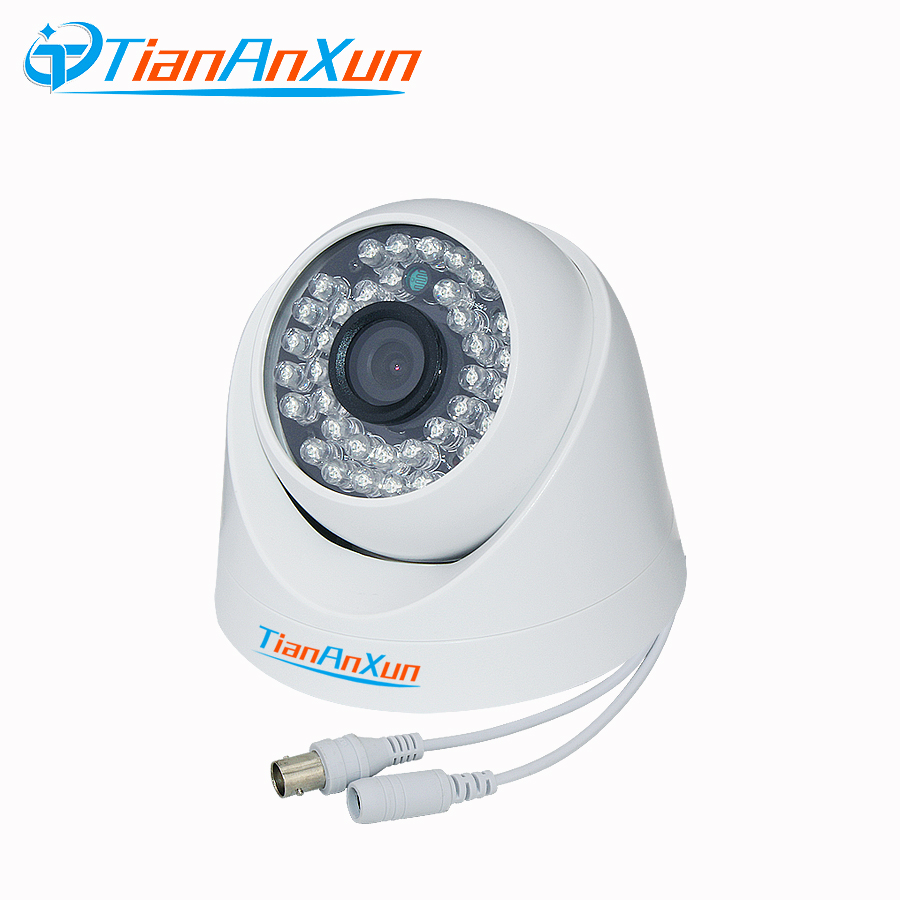 Tiananxun Analog Surveillance Ahd Camera 1080P Cctv Cameras 720P Infrared Night Vision Indoor Mini Dome Camera 12pcs set chinese medical vacuum body massager magnetic acupunture vacuum cupping portable massage therapy tens hijama cupping