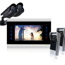 Homefong  10Inch Monitor Video Door Phone Intercom Doorbell Camera Intercom Video Intercom Door bell Phone System