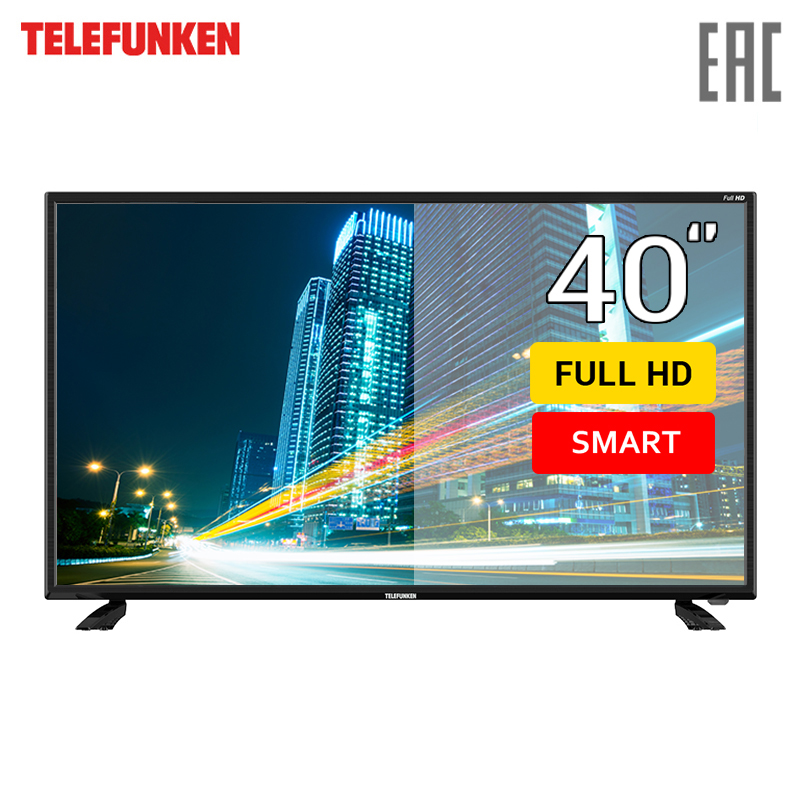 TV 40 Telefunken TF-LED40S43T2S FullHD SmartTV 4049inchTV dvb dvb-t dvb-t2 digital tv 43 telefunken tf led43s81t2s fullhd smarttv 4049inchtv