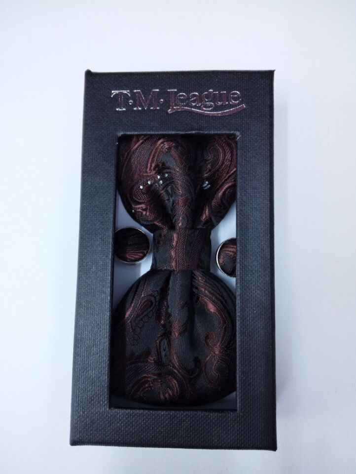 Gravata borboleta משי מתנות לגברים bowtie Pocket כיכר קשיו פרחי עניבת פרפר ממחטת ממחטה עם cufflink תיבת סט