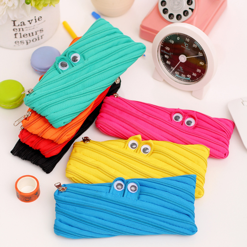 Pencil Case Canvas School Supplies Kawaii Bts Stationery Gift Estuches School Cute Pencil Box Pencilcase Pencil Box High Quality in Pencil Bags from Office School Supplies