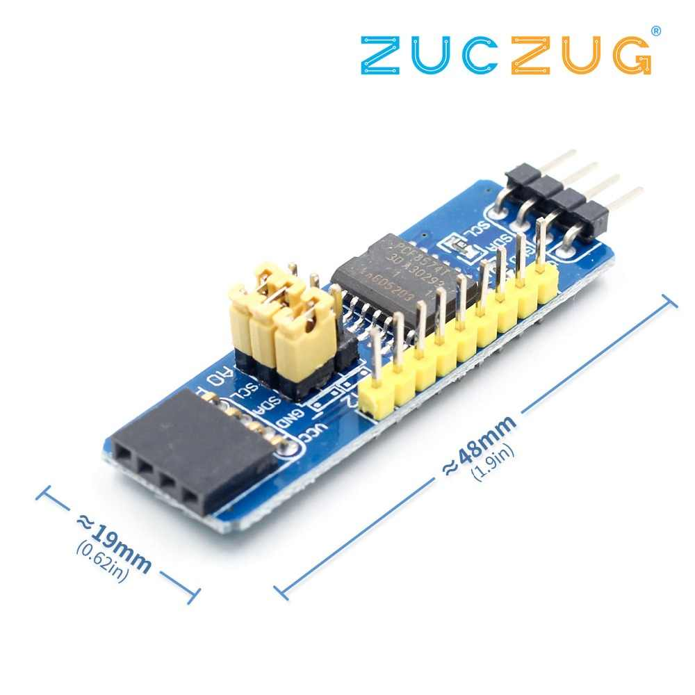 PCF8574 IO Expansion Board I//O Expander I2C-Bus Evaluation Development Module