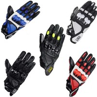 S1 KTM Leather Bicycle Motorcycles Outdoor Sports Mountain Bike Off Road Racing Downhill Protection Carbon Gloves
