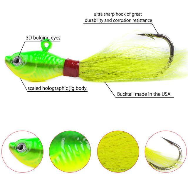 Performance Bucktail Jigs