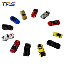 цена на 10pcs miniature model car kits diecast scale model alloy car 1:150