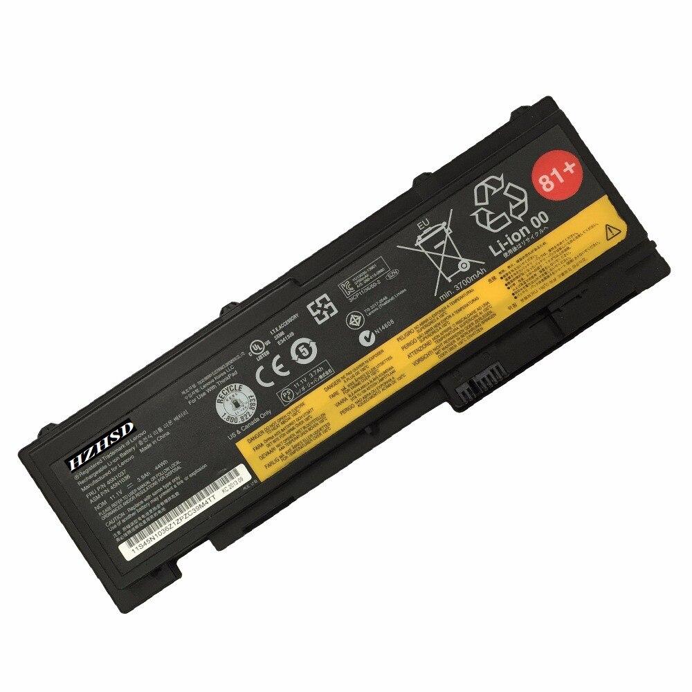 3600 mah pour batterie D'ordinateur Portable Lenovo ThinkPad T430S T420S T420Si Type 4170 4171 4172 4173 T430Si Type 2352 0A36287 0A36309 42T4844