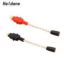 Free Shipping Haldane MMCX Female 0.78mm 2 pin IM04 IE80 A2DC MMCX HD650 ER4B S P UE0.75mm Male Earphone Headset Cable Adapter