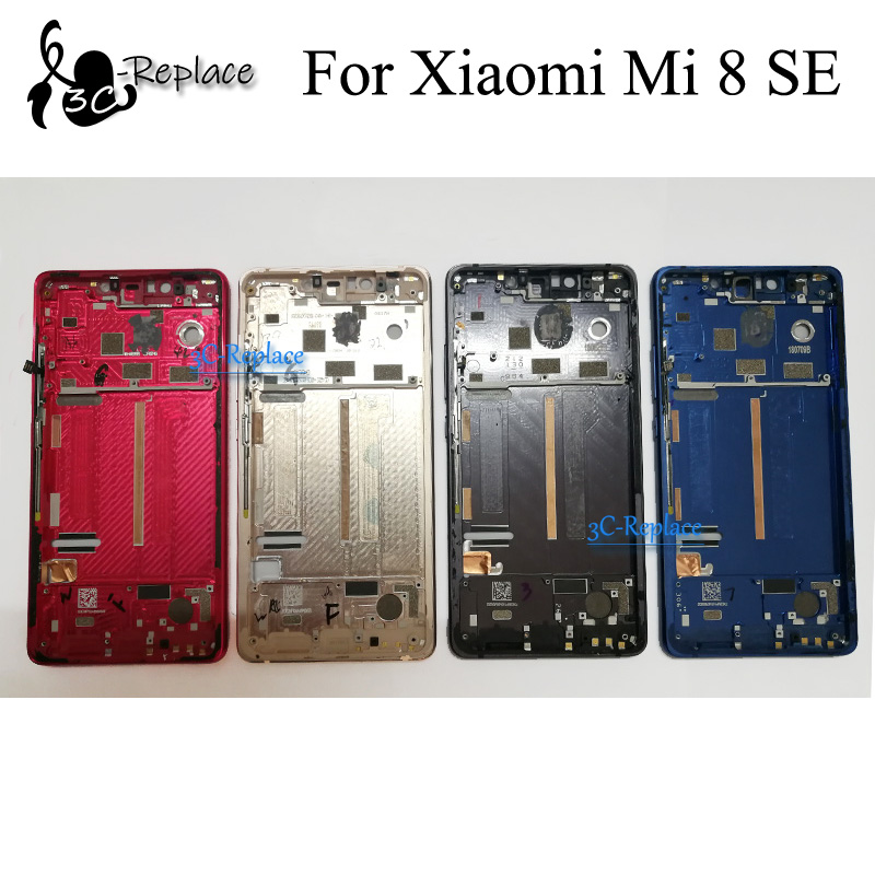 Original Used 6.2 inch For Xiaomi Mi 8 SE Mi8 SE MI8SE Front Housing Chassis Plate LCD Display Bezel Faceplate Frame