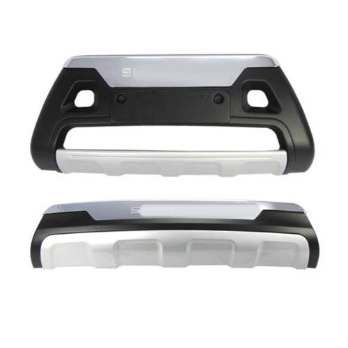 Front Rear Bumper Protector Nudge Bar Guard For Kia Sorento 2013 ABS in Chromium Styling from Automobiles Motorcycles
