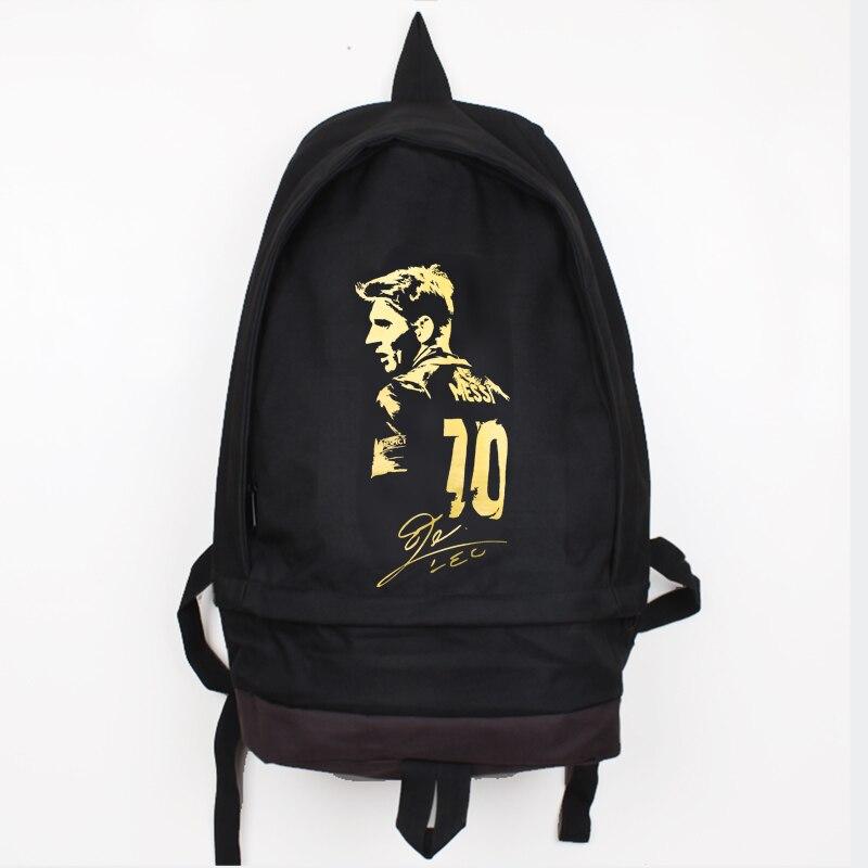 ახალი ჩამოსვლა Messi Canvas Backpack - ზურგჩანთა - ფოტო 2