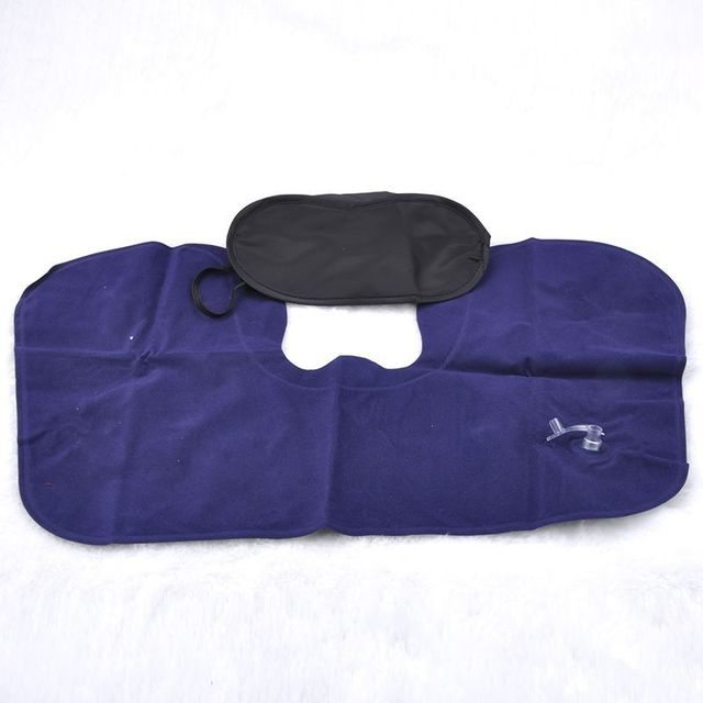 3 in 1 travel sets comfortable business plane trip inflatable neck