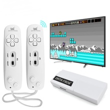 Data Frog Wireless Handheld Game Players Console AV Output Build In 620 Classic 8 Bit Game USB Console Dual Handheld Gamepad