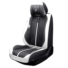 Car Seat Cover,(Front + Rear) New Universal Cushion,Senior Leather,New Sport Styling,Car-Styling For Sedan SUV