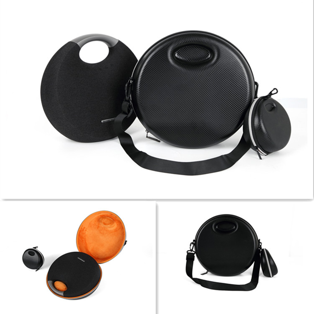 US $23 43 25% OFF|2019 Newest EVA Hard Bag Cover Case for Harman Kardon  Onyx Studio 5 Bluetooth Wireless Speaker System  Fits Rechargeable  Battery-in
